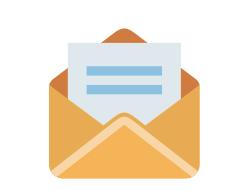 จัดส่ง E-Newsletter เพื่อแจ้งข่าวสาร