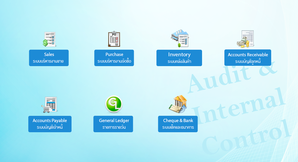 Audit and Internal Control - ระบบตรวจสอบและควบคุมภายใน